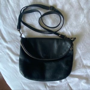 Made in Italy Leather Crossbody Bag